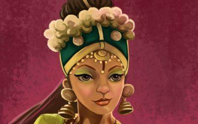 Mon premier CDChallenge – Indian Dancer