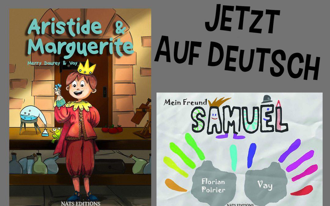 Aristide et Samuel en allemand
